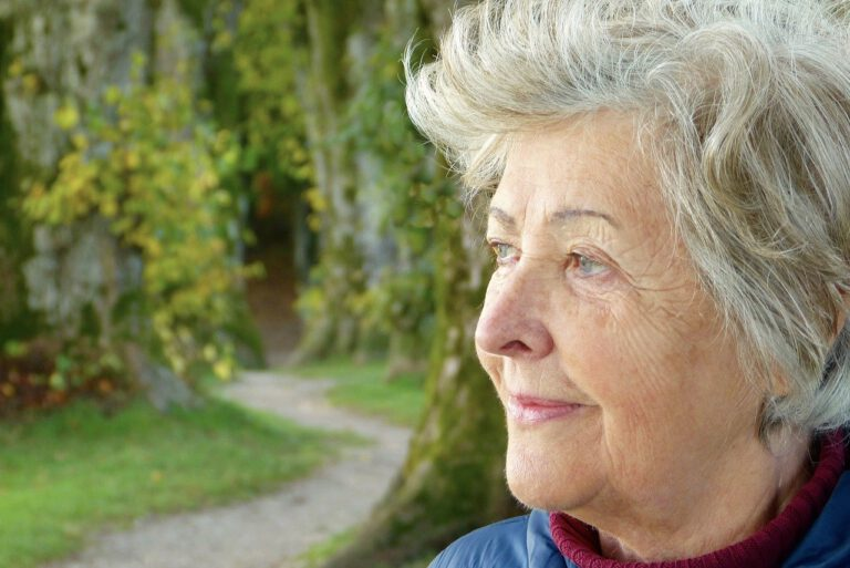 woman, age, in the free